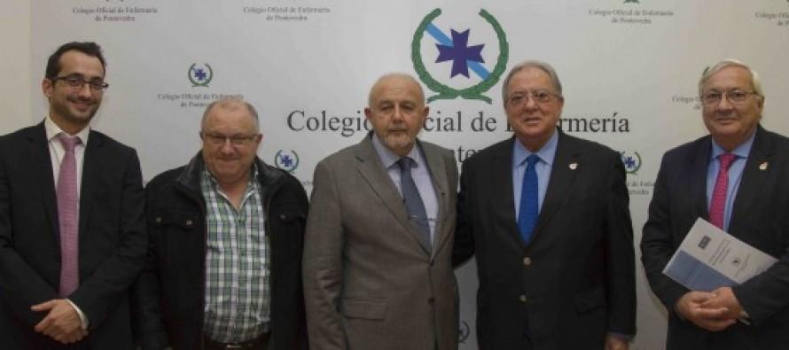 El colegio de Enfermería de Pontevedra firma una nueva póliza de RCP con A.M.A.