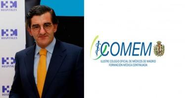 Juan Abarca, candidato a presidir ICOMEM