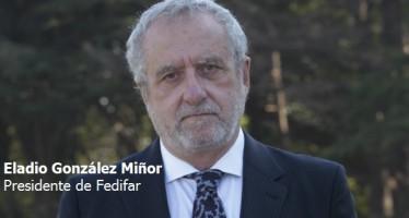 """E. González: """"Fedifar está abierto a la colaboración con hospitales"""""""