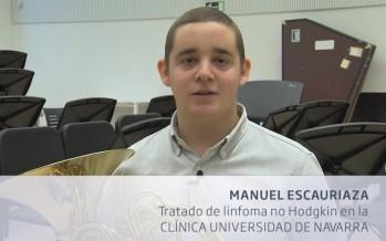"""Manuel: """"La música fue una gran ayuda contra el cáncer"""""""