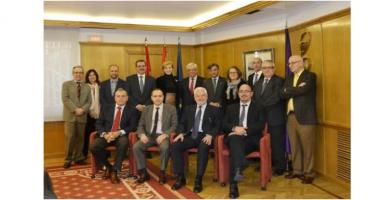 SERMAS y el Colegio Oficial de Farmacéuticos de Madrid se reúnen en la sede del COFM