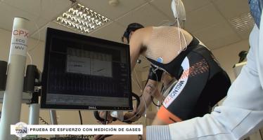 El seguimiento médico para una dura prueba de mountan bike