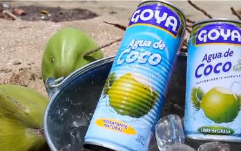 Agua de coco, el hidratante más natural
