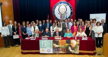 """La Fundación signo entrega sus premios """"Profesor Barea 2016"""""""