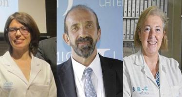 """Los doctores Morancho, Moreno y Villar, Premios """"A tu salud"""""""