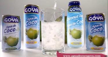 El agua de coco rehidrata naturalmente