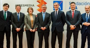 Atresmedia y Fundación AXA renuevan su compromiso por la prevención e investigación