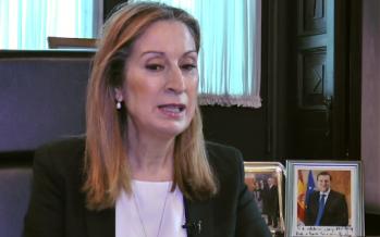 """A. Pastor: """"Ser presidenta del Congreso de los Diputados es un honor"""""""