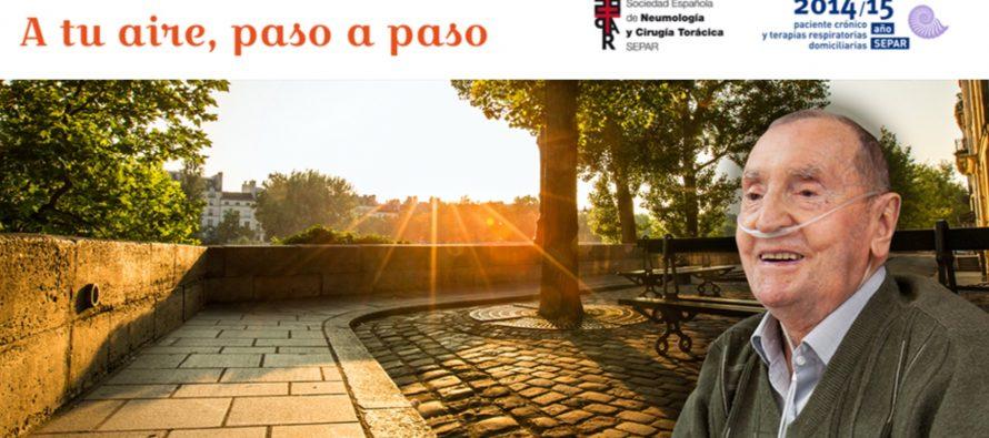 SEPAR recomienda paseos saludables para pacientes con EPOC
