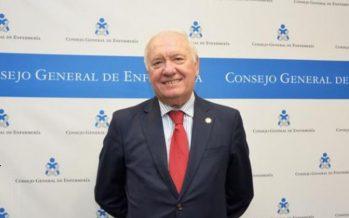 Florentino Pérez Raya, presidente del Consejo General de Enfermería
