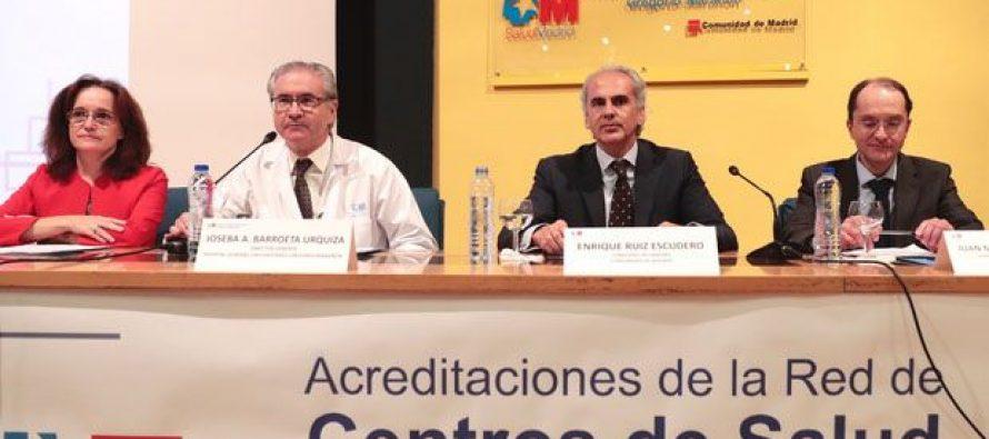 Madrid reconoce la labor de los centros de AP contra el tabaco