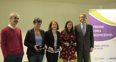 Cinfa y Redpacientes entregan sus premios al Mejor Artículo de Salud