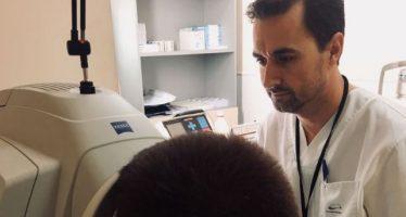 El Hospital de Torrevieja innova en el diagnóstico de los microestrabismos en niños