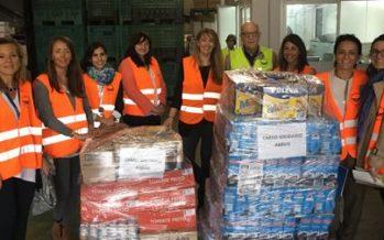 AbbVie entrega 760 kilos de productos al Banco de Alimentos