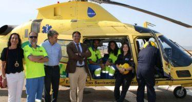 Extremadura incorpora dos nuevos helicópteros de transporte sanitario