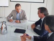 Pedro Duque y Farmaindustria comparten la apuesta del sector por la I+D biomédica