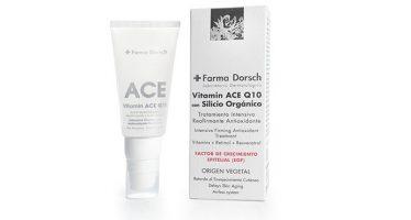 Vitamina ACE de + Farma Dorsch, el Cocktail Antiedad ideal para la piel