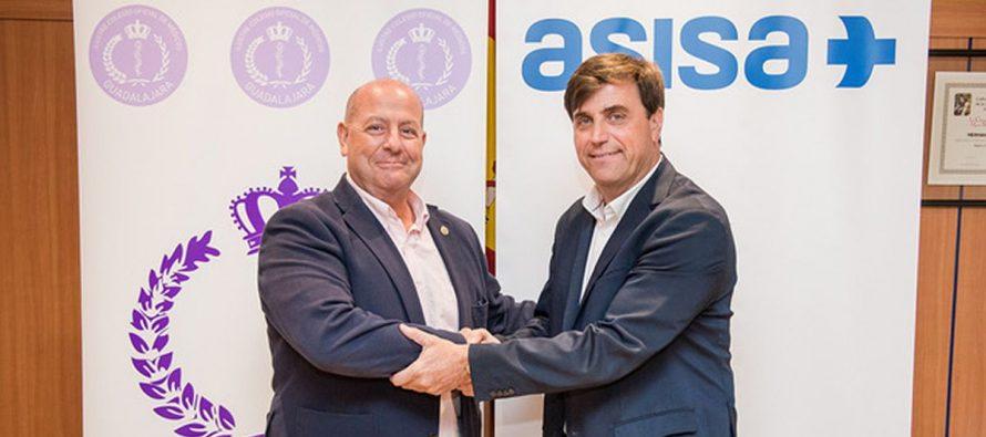 Asisa y el Colegio de Médicos de Guadalajara firman un acuerdo de colaboración