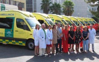 Andalucía invierte 2,3 millones en la renovación de 31 uvis móviles para atender emergencias sanitarias