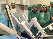 Un nuevo robot 'Da Vinci' permitirá realizar más de 140 cirugías en el Hospital de Málaga