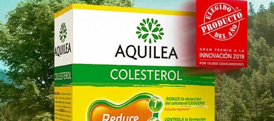 Aquilea colesterol, producto del año 2019
