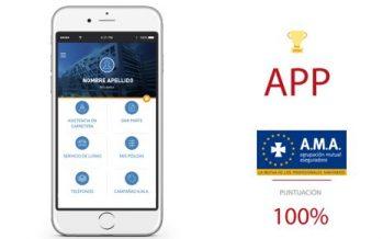 A.M.A. encabeza el ranking de aplicaciones en el sector de las aseguradoras