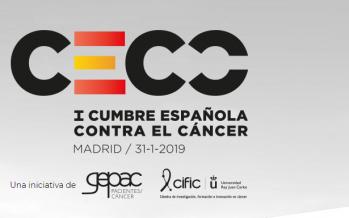 I Cumbre Española Contra el Cáncer en Madrid