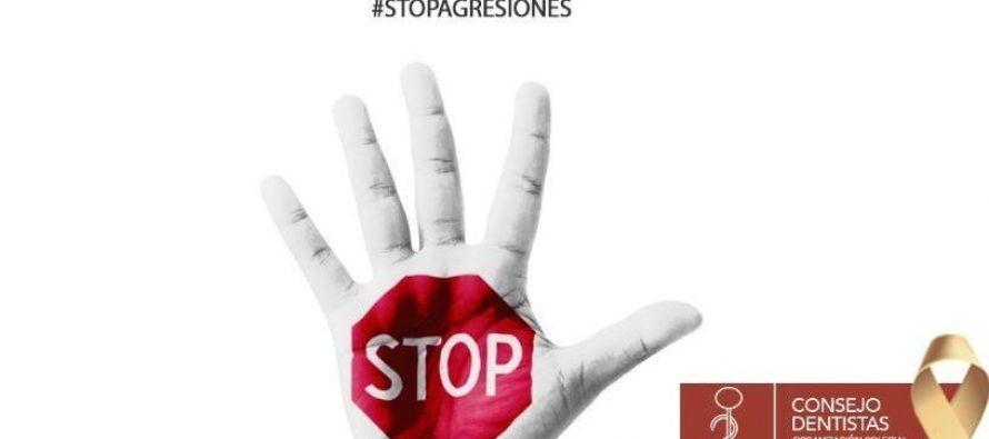 El Consejo de Dentistas de España muestra su compromiso de tolerancia cero a las agresiones a sanitarios