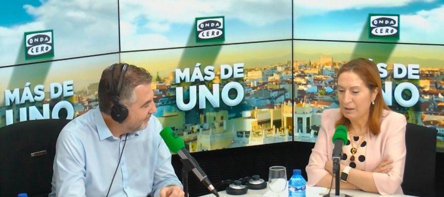 """Ana Pastor: """"Soy cada vez más feminista porque es necesario que se hable de los problemas reales de la mujer"""""""