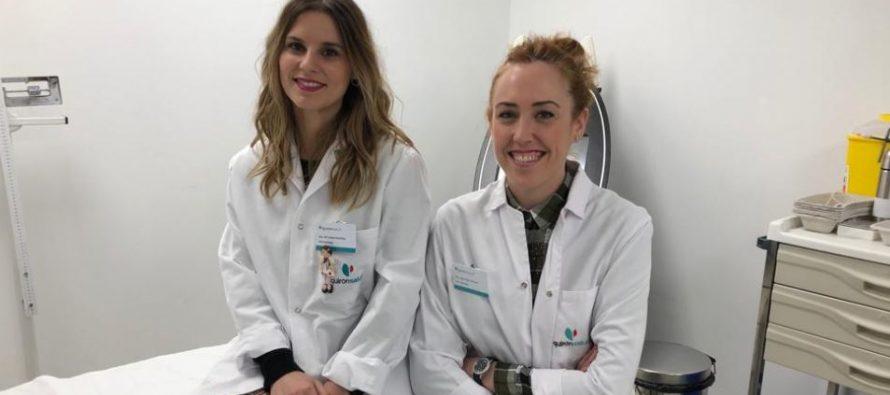 Dras. Libe Aspe y Maribel Martínez