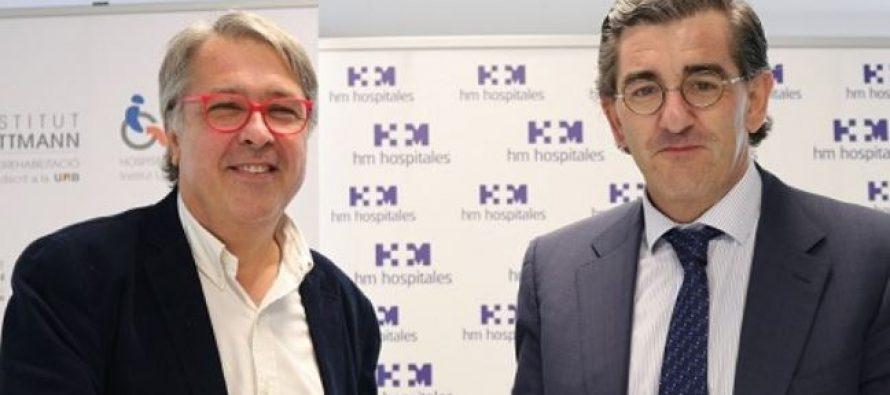 El Institut Guttmann y HM Hospitales, juntos por el desarrollo de proyectos pioneros en el ámbito docente e investigador