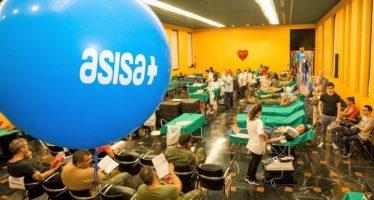 Asisa recoge más de 600 donaciones de sangre en el Día Internacional del Donante en Alicante