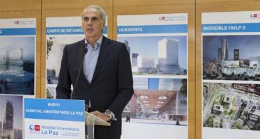 El nuevo Hospital La Paz podría llegar a tener 33 plantas