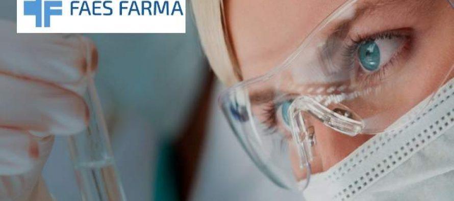 Faes Farma gana 36,6 millones de euros en el primer semestre