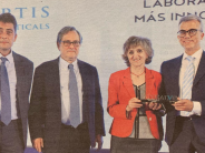 Novartis recibe el Premio a la Compañía más Innovadora del 2019