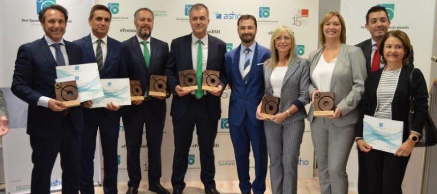Quirónsalud A Coruña, premiado en cuatro categorías en la primera edición de los Premios BSH -Best Spanish Hospitals Awards
