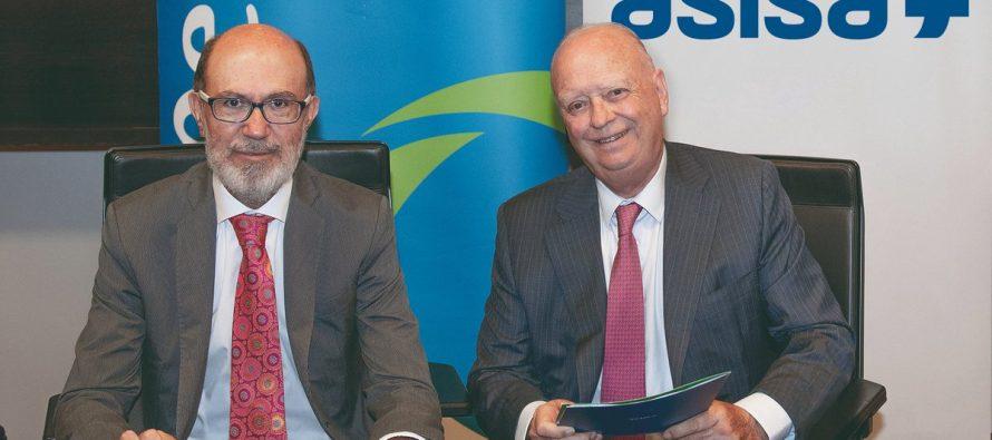 Pelayo y Asisa firman un acuerdo para distribuir su seguro de salud