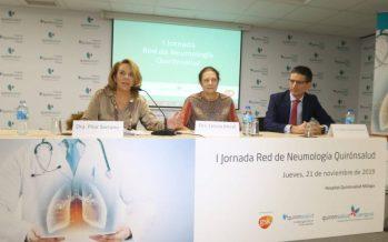 Málaga acoge la 1ª Jornada Red de Neumología Quirónsalud