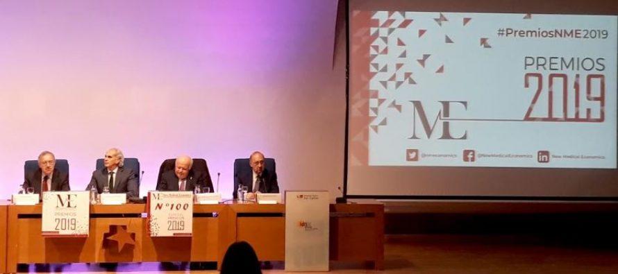 El SUMMA 112 de Madrid recibe el premio New Medical Economics 2019