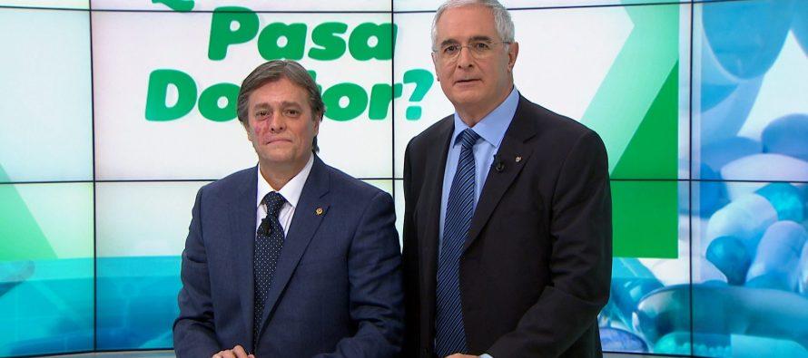 Los dres. Fantini y De Casas abordan la estenosis del canal en '¿Qué me pasa doctor?'