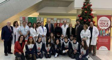 Madrid lanza la campaña de Navidad 'Dona sangre, ilumina vidas'