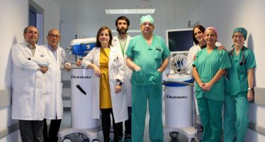 Amplían la cirugía robótica flexible a nuevos servicios en el Hospital Universitario Infanta Cristina