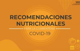 La SEEN ofrece en un vídeo claves para evitar el aumento de peso en la cuarentena