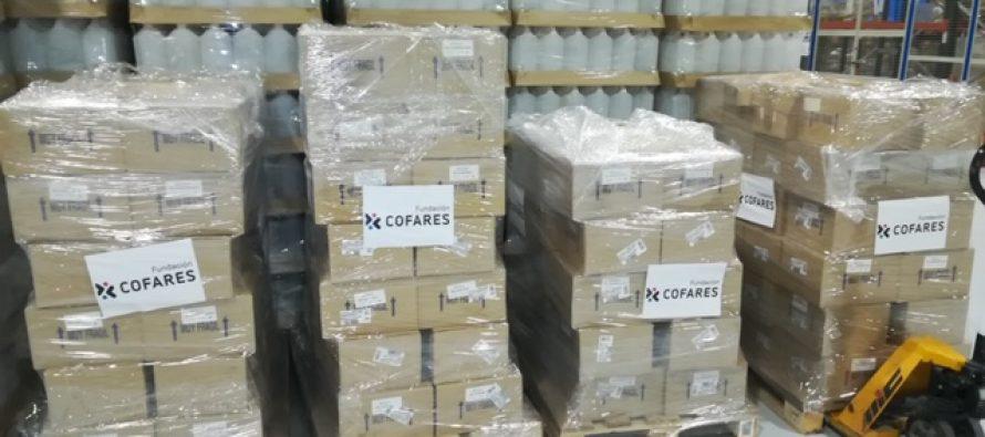 Coronavirus España: Cofares dona 6.000 geles de baño a las Fuerzas Armadas en la lucha contra el Covid-19