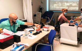 Ribera salud hará más de 7.000 pruebas diagnósticas a los profesionales de sus centros