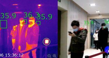 Cámaras termográficas para medir la temperatura sin contacto físico