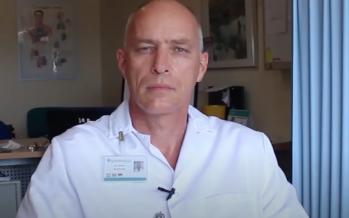 """Dr. Dick Pasker: """"Respirar a través de la mascarilla genera resistencia"""""""