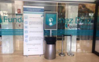 """La FJD obtiene los tres identificativos de calidad """"Garantía Madrid"""" por sus prácticas frente al coronavirus"""