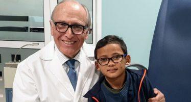 La Fundación Fernández-Vega logra que un niño camboyano recupere el 80% de la visión de su ojo derecho