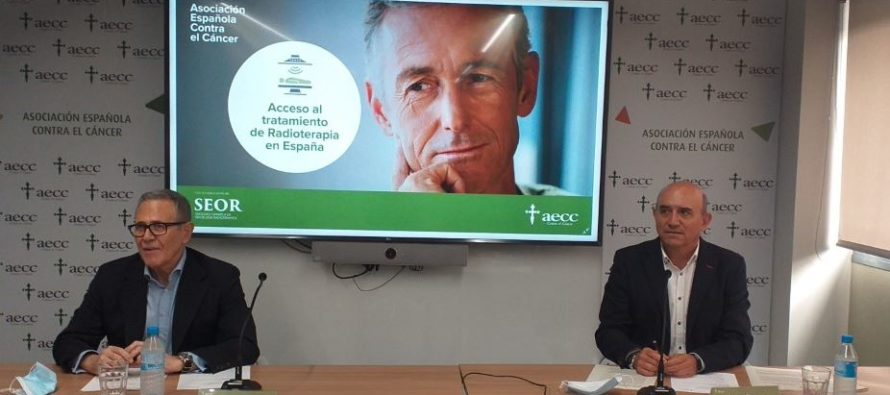 La AECC y la SEOR publican un informe sobre la realidad del acceso a la radioterapia en España
